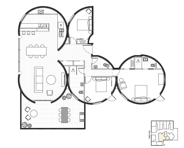 Islington silos floorplans are in kitten of doom Silo home plans