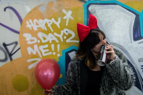 It's me birthday!  Gotta have some fun on me birthday.