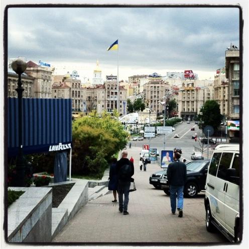 Kyiv city centre