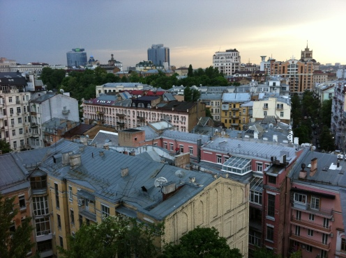 View from Hotel Ukraina