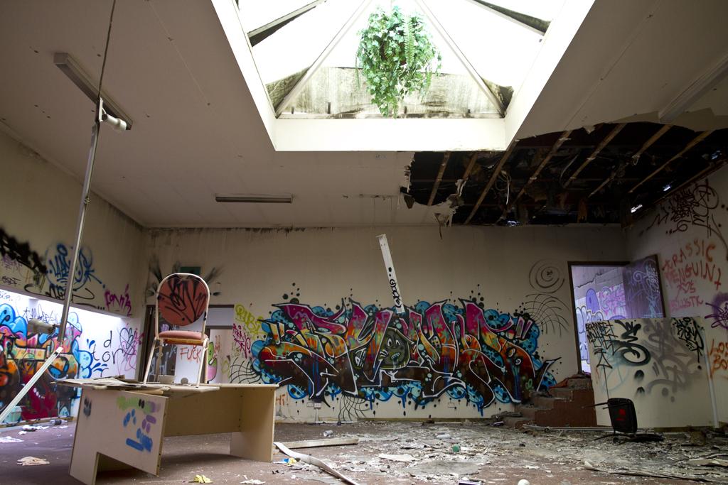 Abandoned Melbourne Reception Centre Kitten Of Doom